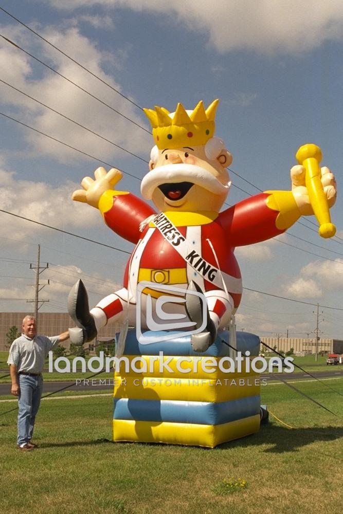 Inflatable Mattress King Mascot