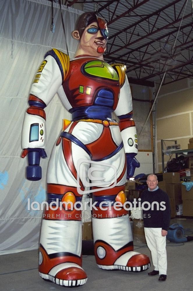 Precision Tune Auto Quot Precision Tune Man Quot Inflatable Cyborg