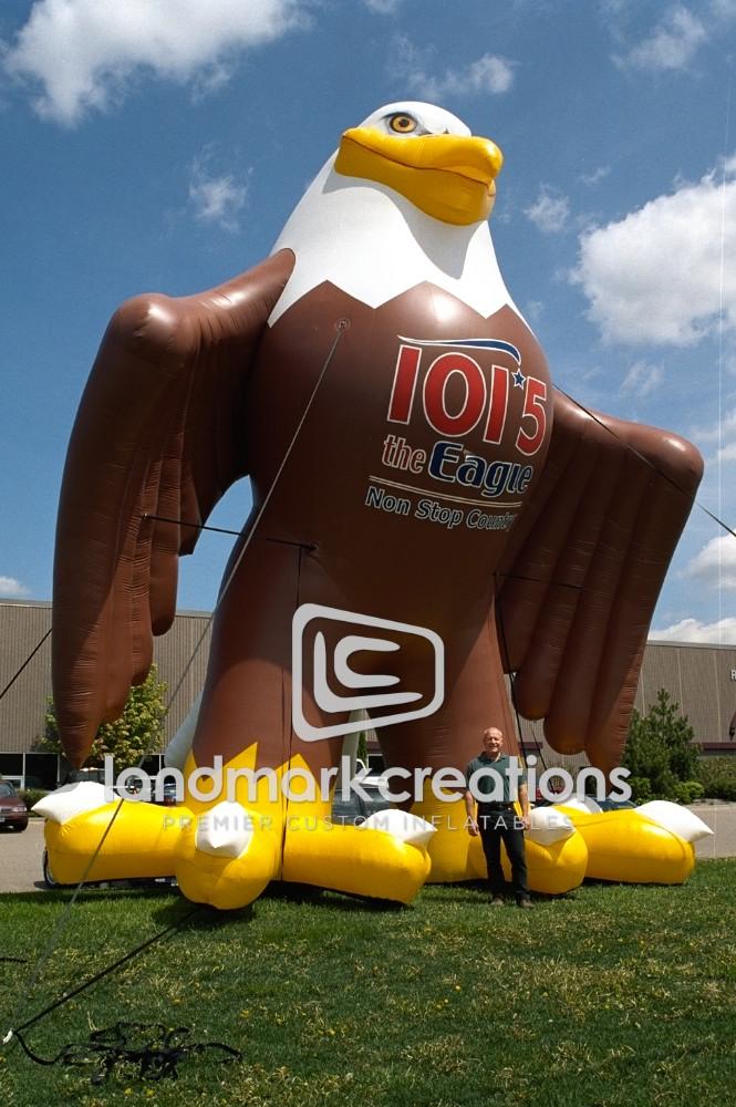 Liberty Homes Inflatable Eagle Mascot