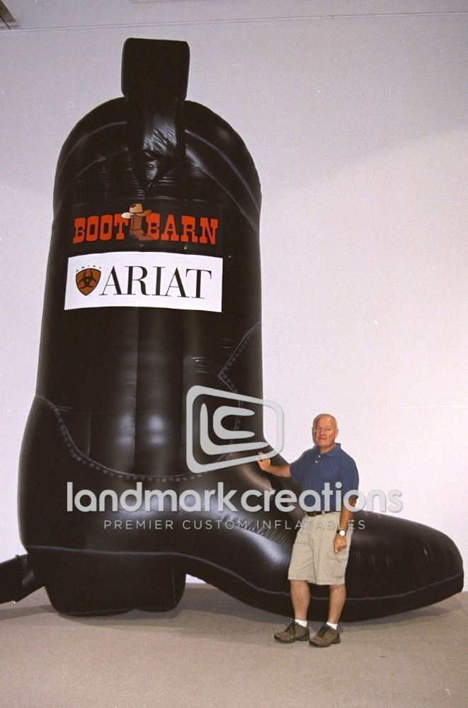 Inflatable Boot Barn Ariat Cowboy Boot