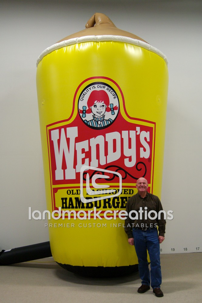 Wendy S Giant Inflatable Frosty Cup