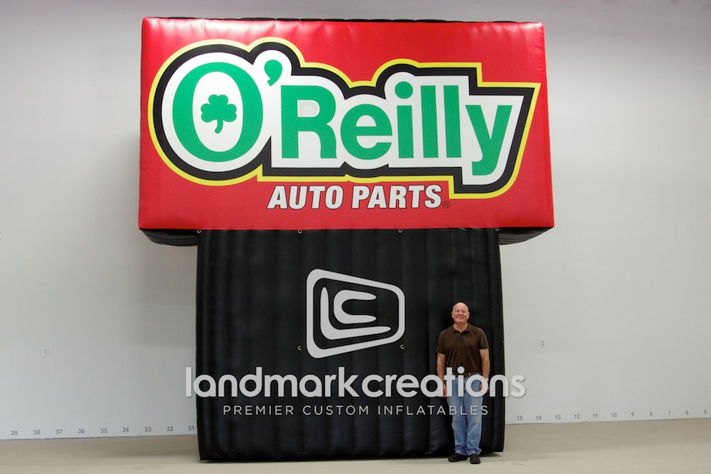 Tire Repair Kit >> O'Reilly Auto Parts Inflatable Advertising Billboard