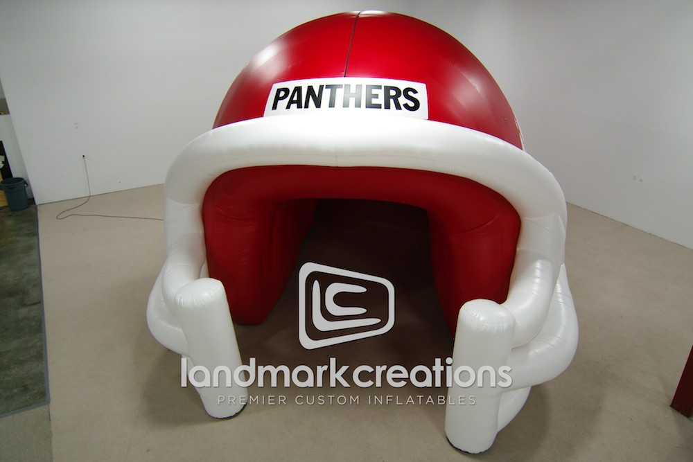 Cabot Panthers Inflatable Football Helmet with Extension Tunnel