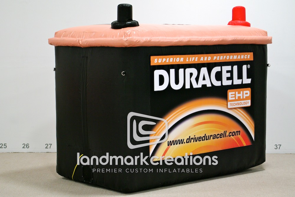 Duracell EHP Inflatable Car Battery Replica