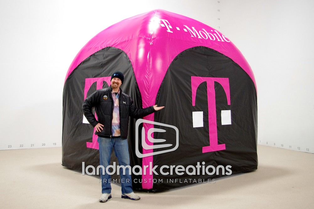L3586-01.jpg & T-Mobile Inflatable AirTent for Ingster Marketing