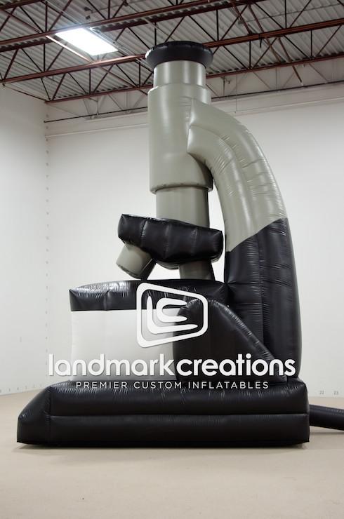 Giant Inflatable Microscope Replica