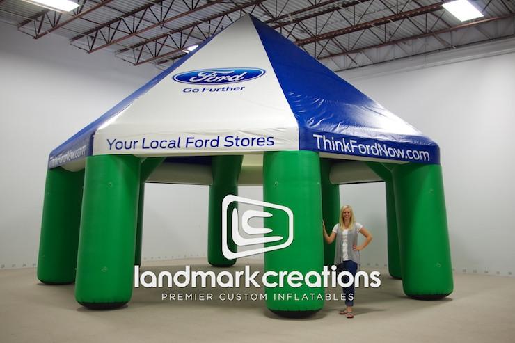 L3811-01.jpg & Custom SpongeBob SquarePants Inflatable Tent