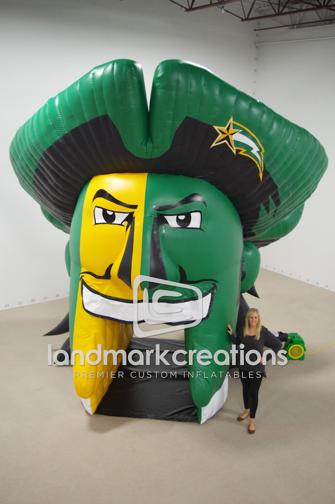 Custom Inflatables Sports Tunnels Sell Ad Space On