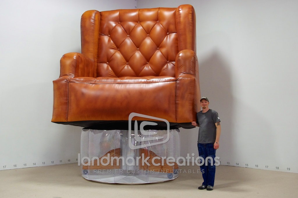 Inflatable Leather Office Chair For Michigan Democratic