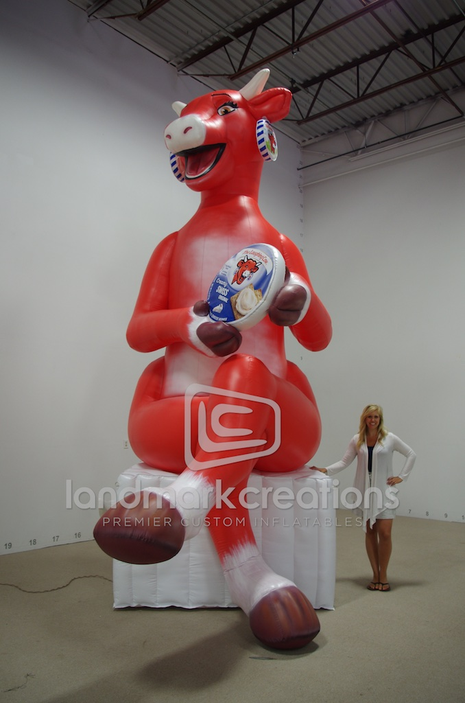 Giant Inflatable Cow Costume