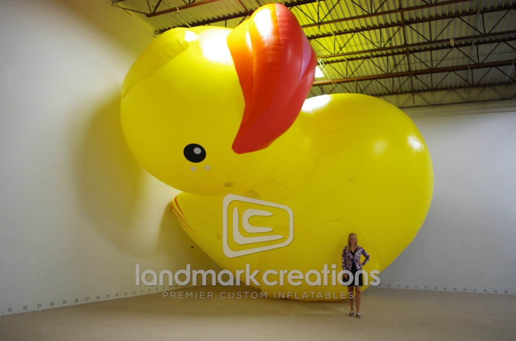 Spa Manufacturers Inflatable Rubber Duck Display