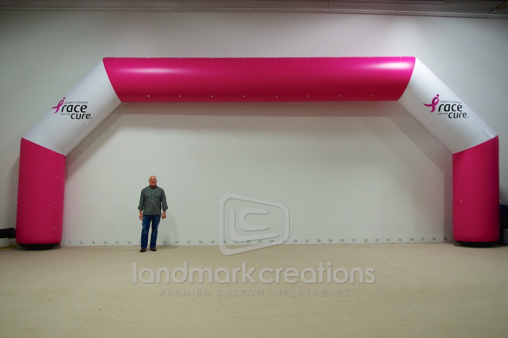 Custom Inflatable Archways for Races and Events