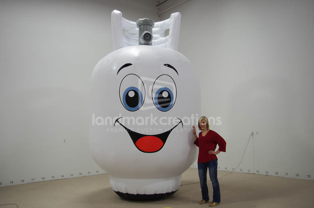Eastern Propane & Oil Inflatable Propane Tank Replica