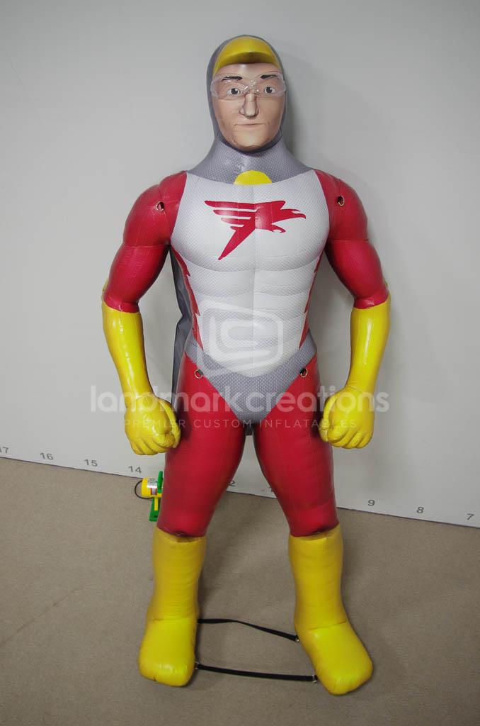 Pronto Insurance Inflatable Mascot