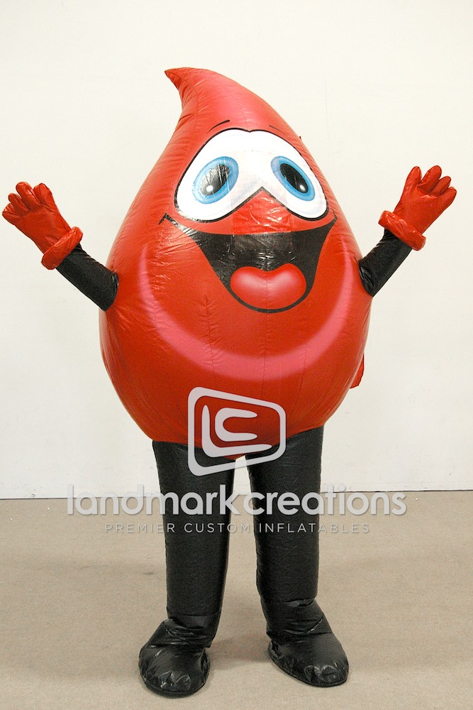 Blood Drop Costume