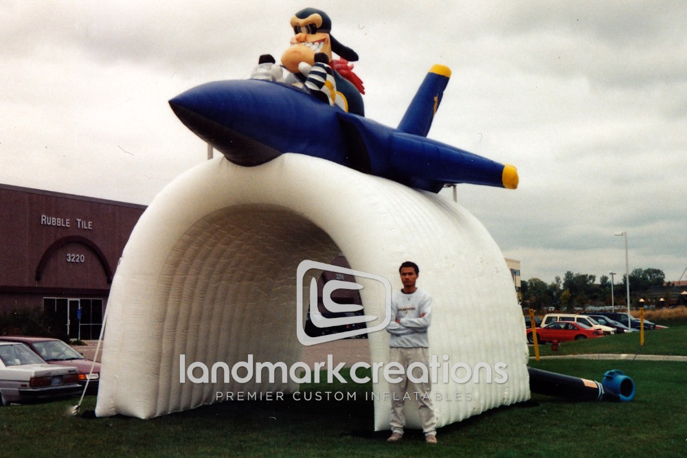 Pensacola Ice Pilots Inflatable Hockey Tunnel