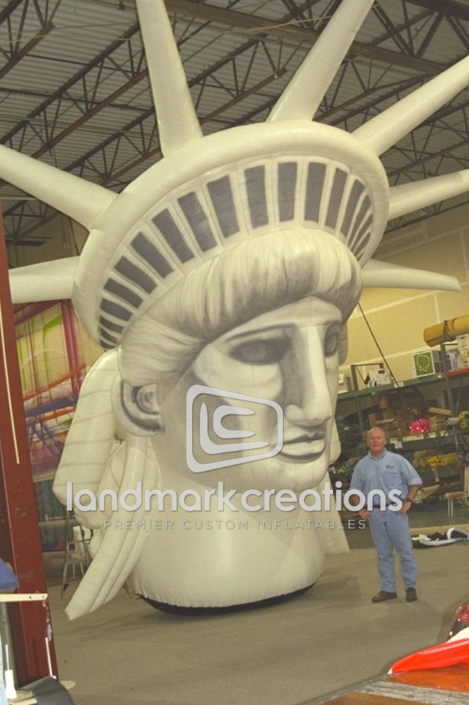 Statue of Liberty Head
