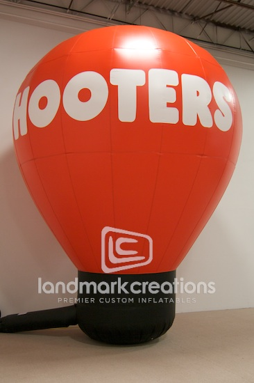 Hooters Hot Air Shape