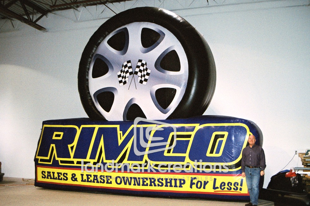 Rimco Tire Billboard