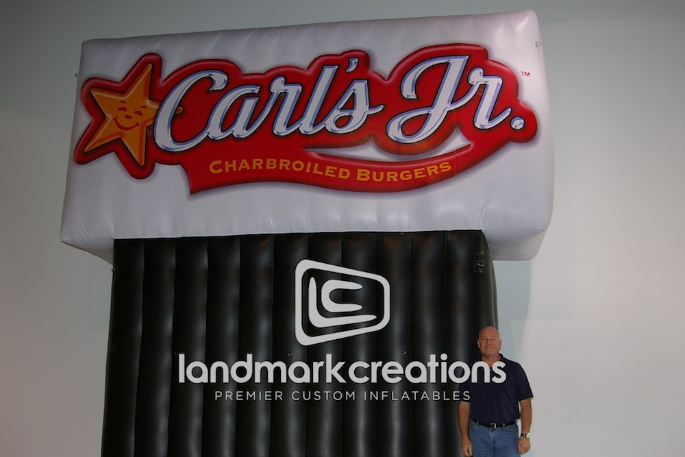 Carl's Jr. Restaurant Billboard
