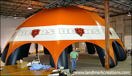 Chicago Bears Tent