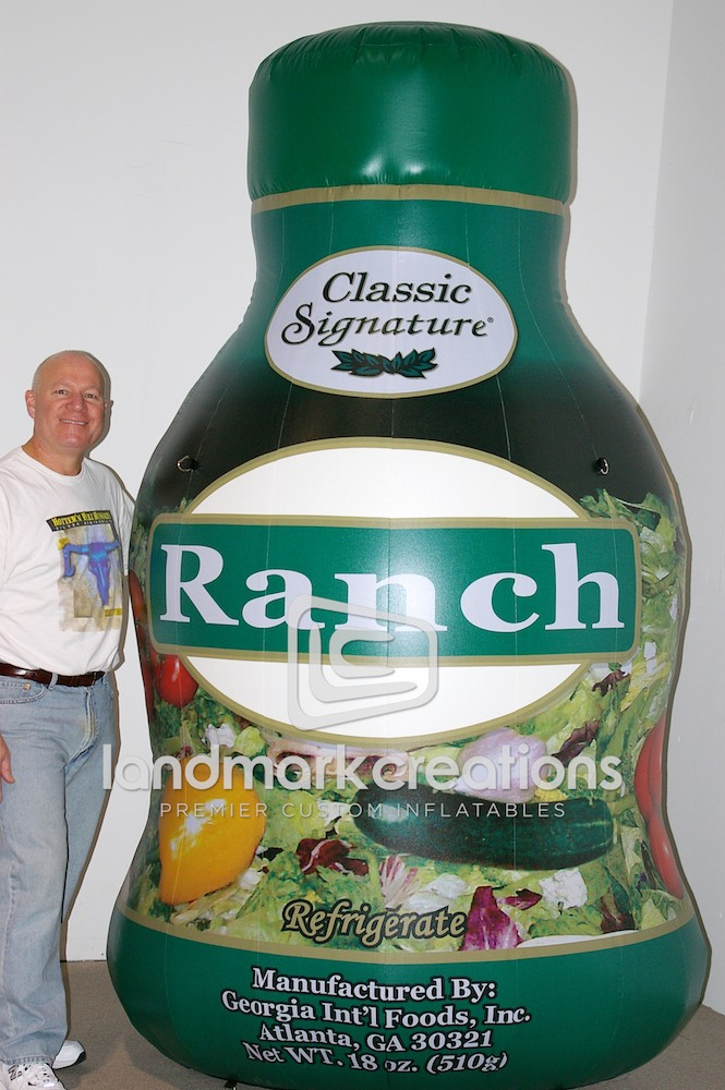 Ranch Dressing Bottle