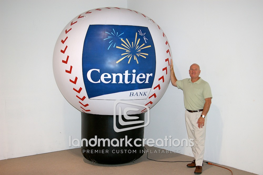 Centier Bank Inflatable Baseball