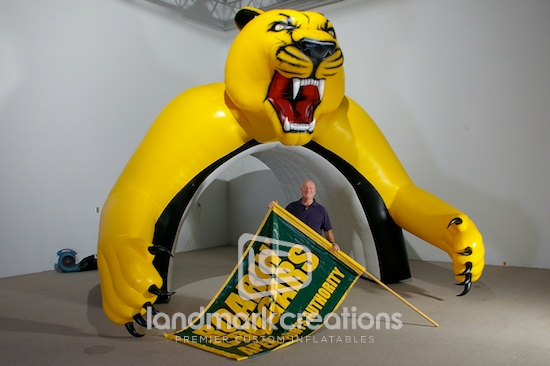 Cougars Tunnel
