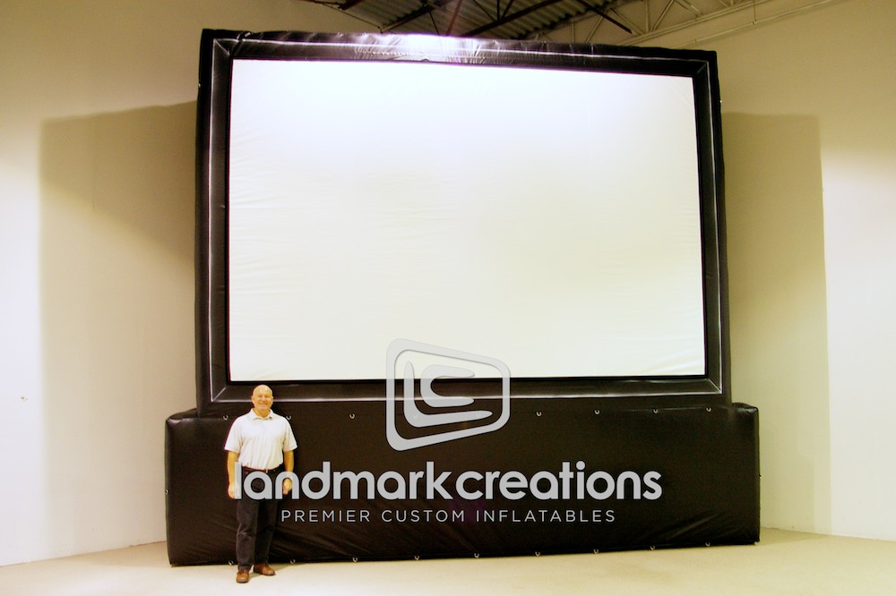 Movie Screen with Pedestal