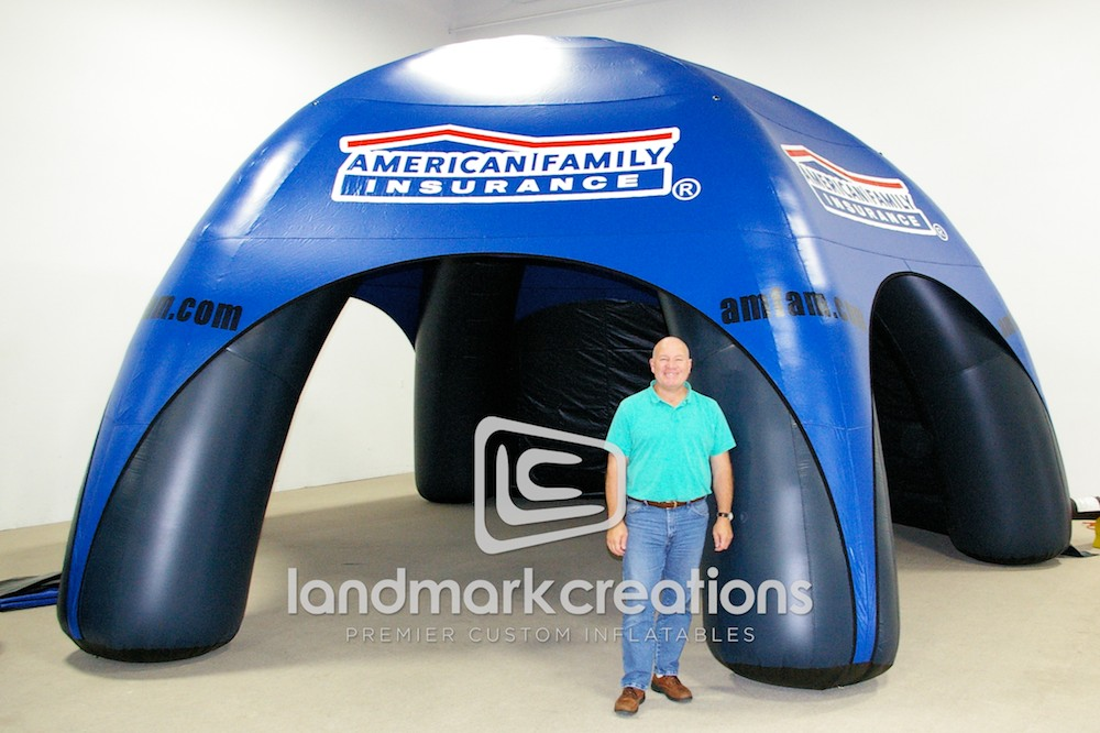 American Family Insurance Tent
