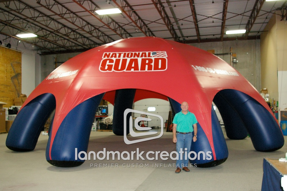 Army National Guard Tent