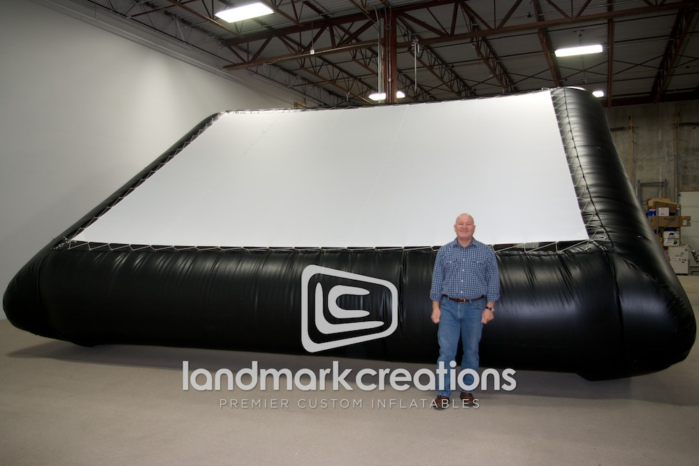 Commercial Grade Movie Screen