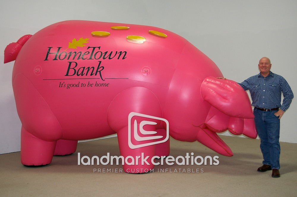 HomeTown Bank Pig