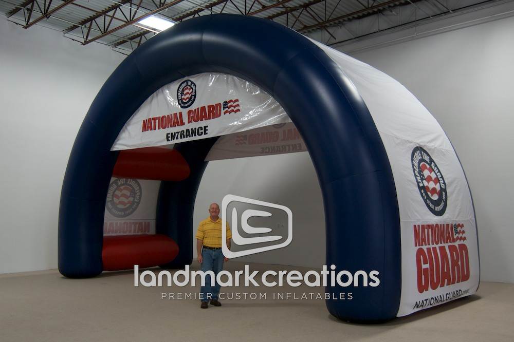 National Guard Dual Arch