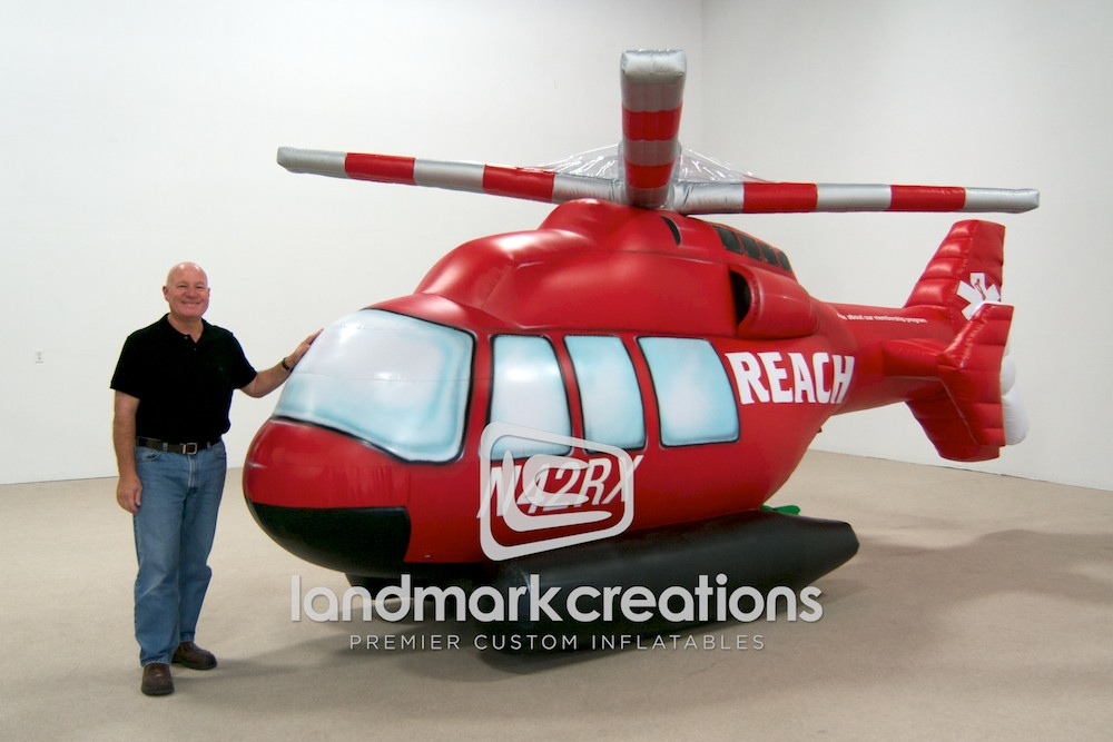 REACH Air Medical Helicopter