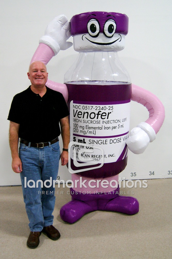 Mr. Venofer Medicine Character