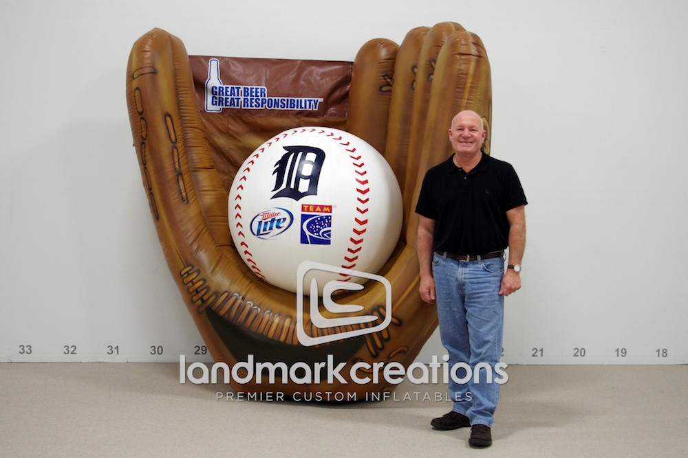 Detroit Tigers Baseball Glove