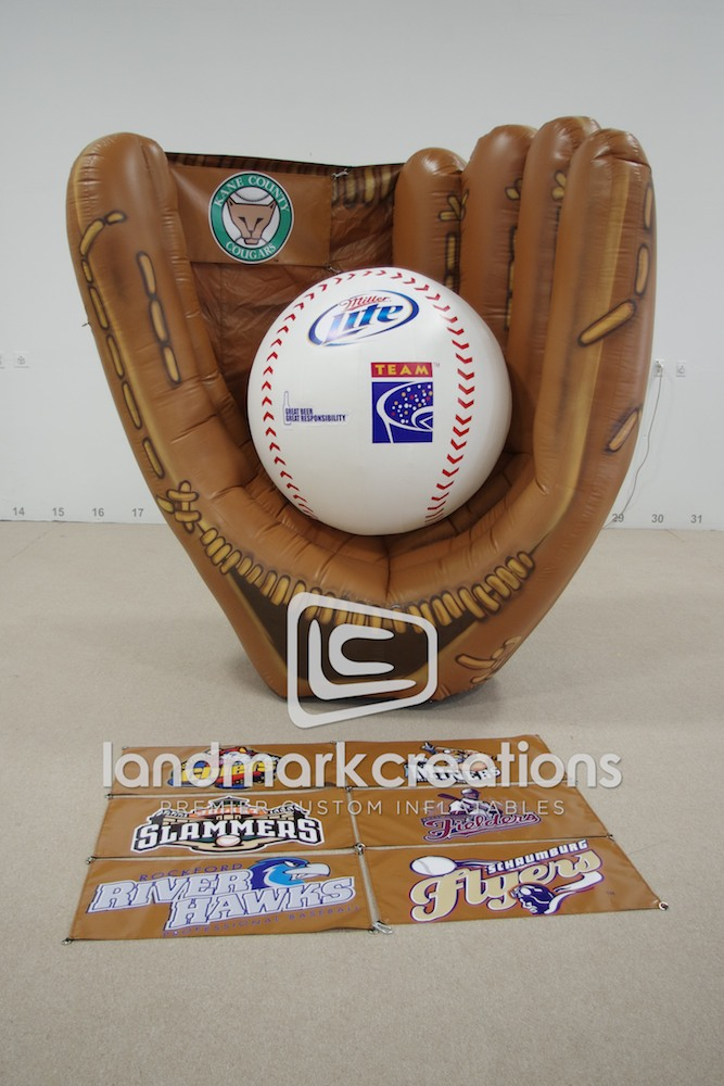 Minor League Baseball Glove