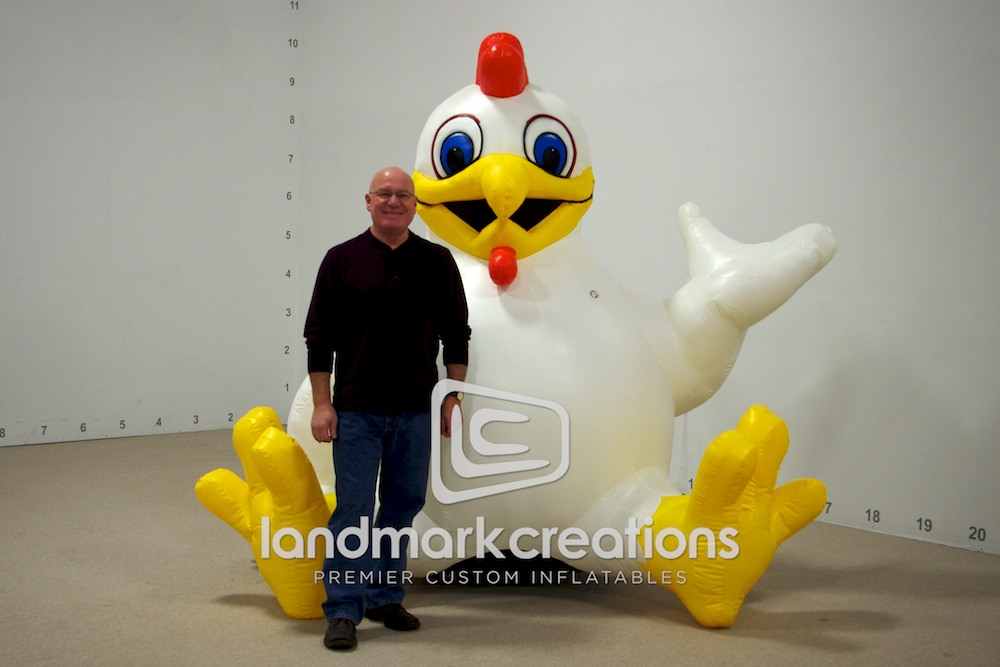 The Big C Chicken Stage Prop