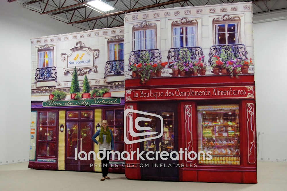 Nutraceutical French Village Display