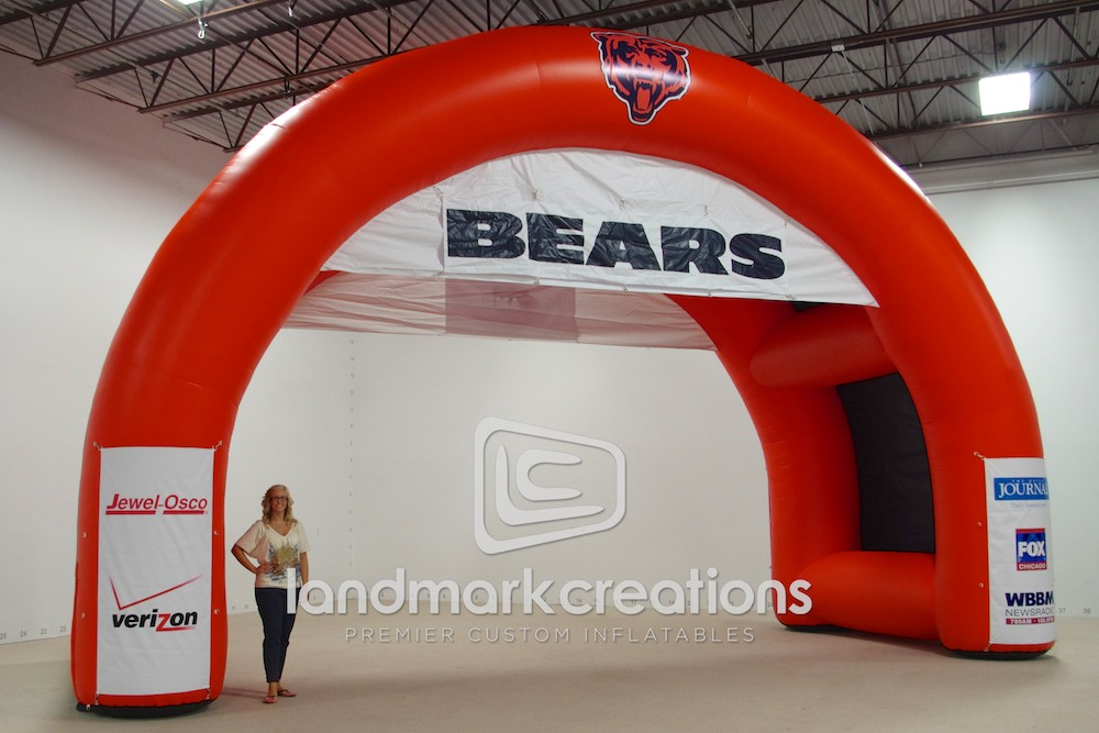 Chicago Bears Dual Arch