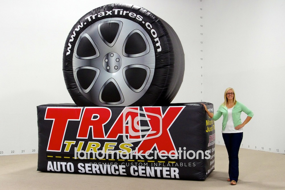 Trax Tires Display