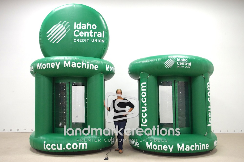 ICCU Money Machine with Logo