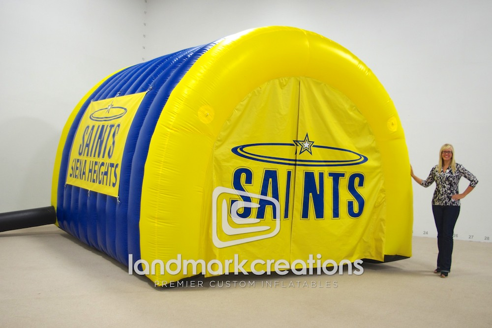 Siena Heights Saints Tunnel