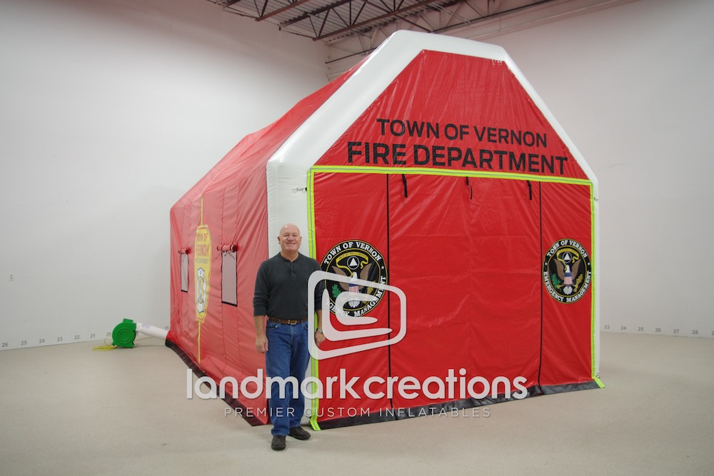 Vernon Fire and Rescue Rehab Tent