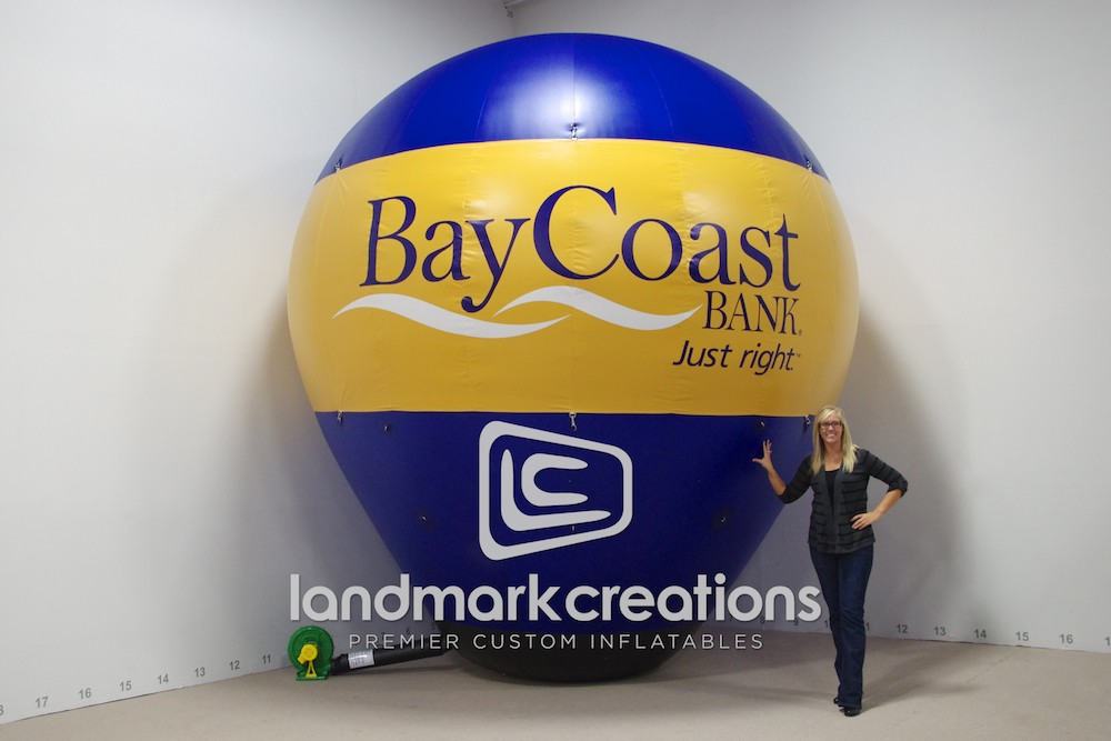 BayCoast Bank Hot Air Shape