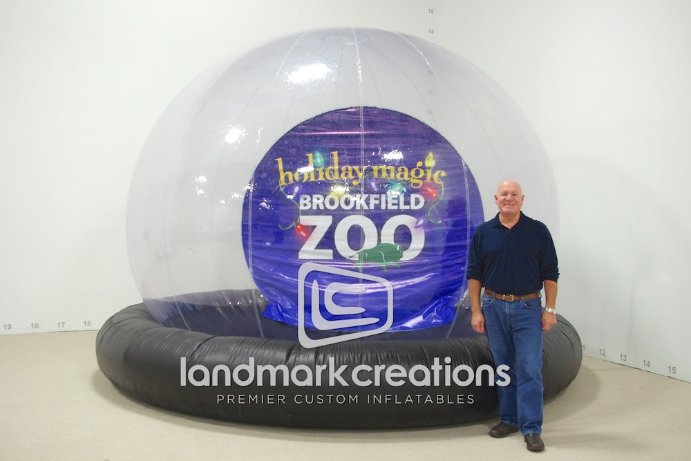 Brookfield Zoo Snowglobe