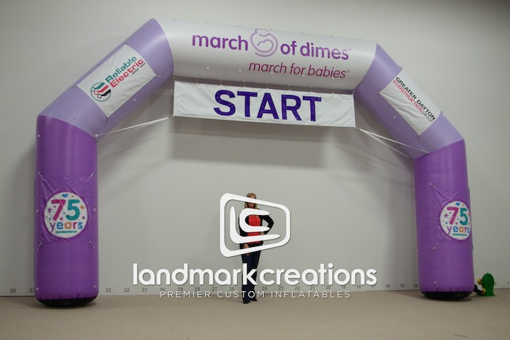 March Of Dimes Arch