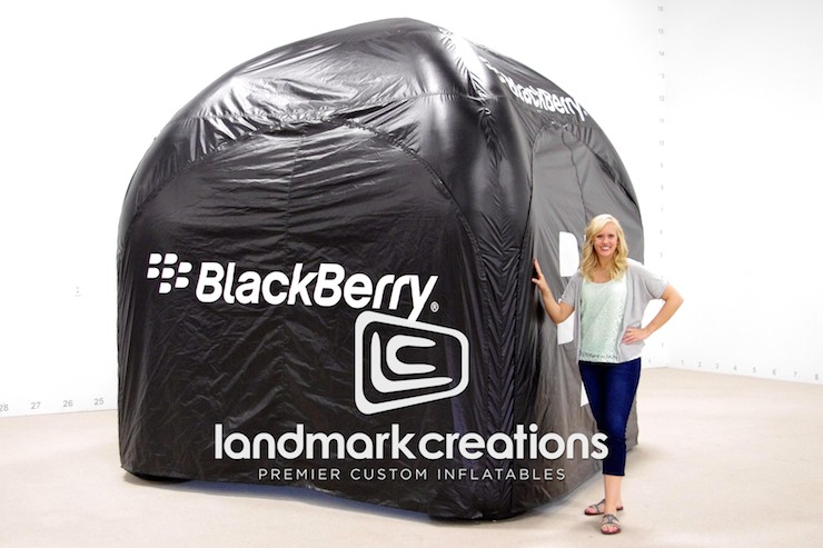 Blackberry Tent