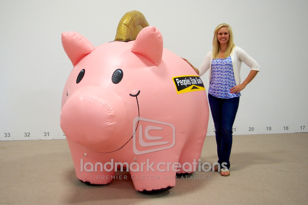 Peoples State Bank Pig